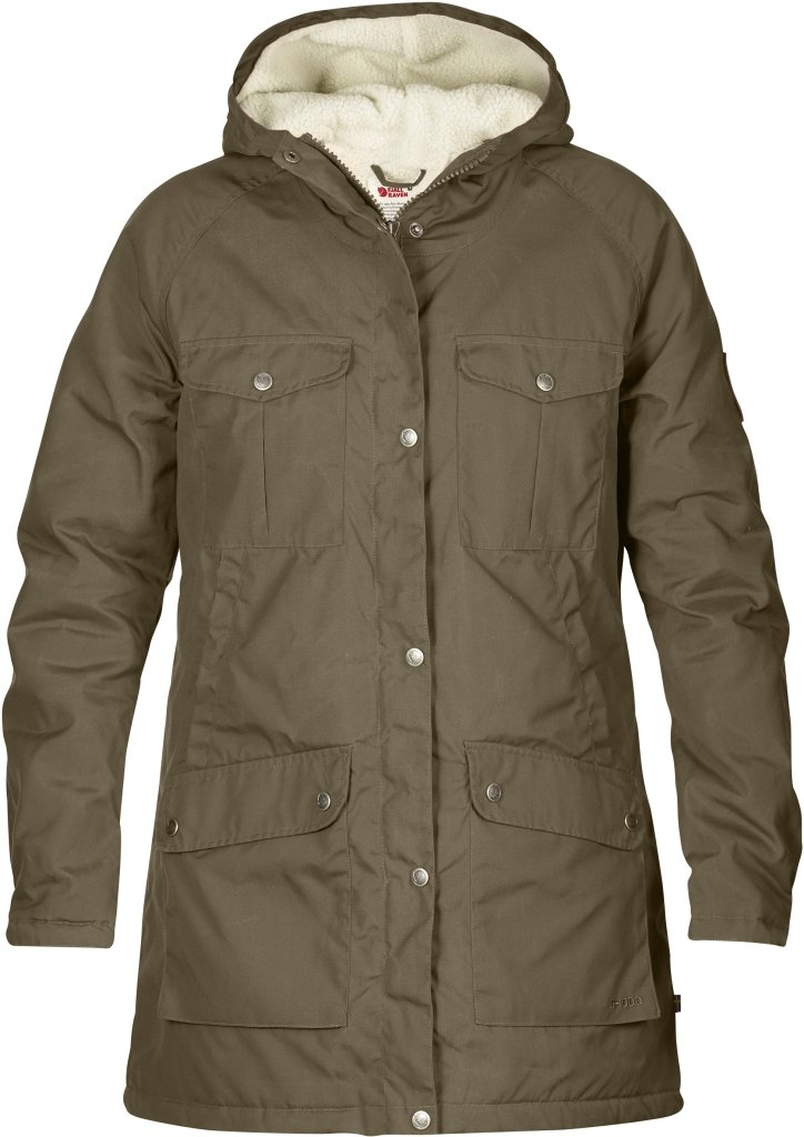 FjallRaven Greenland Winter Parka W Taupe-30