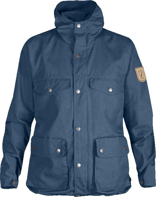 FjallRaven Greenland Women Jacket Uncle Blue-30