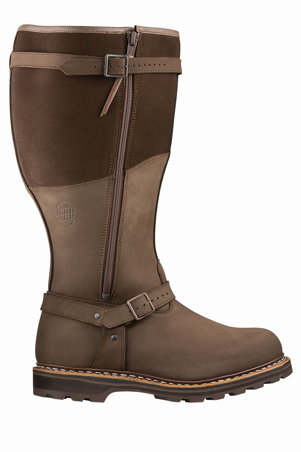 Hanwag Grizzly Top Breit/Broad Lady Brown – Erde-30