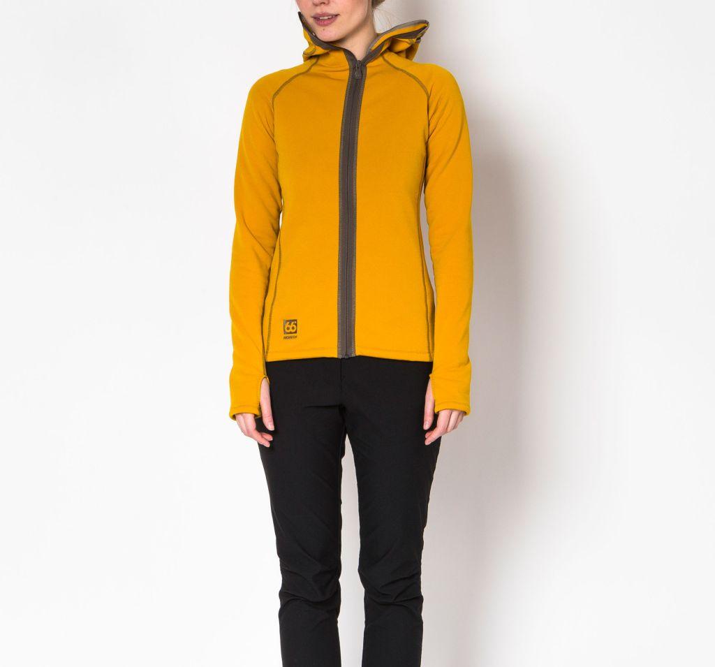Vik Hooded Women´s Jacket Retro Yellow-30