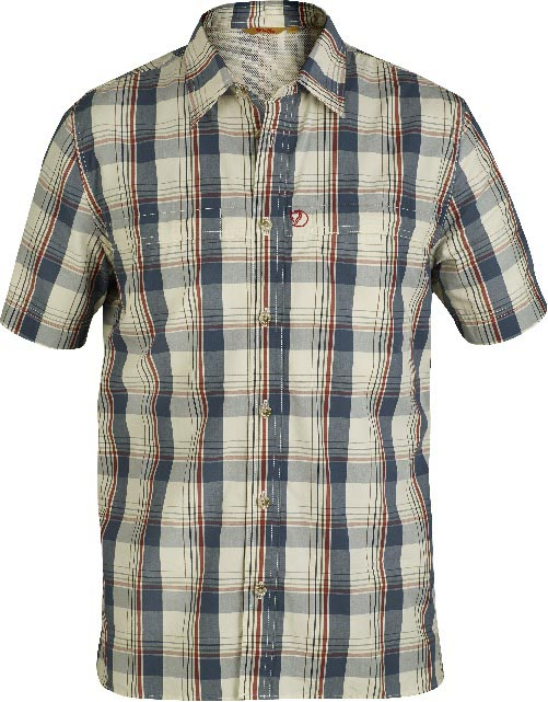FjallRaven Gunnar Shirt Uncle Blue-30
