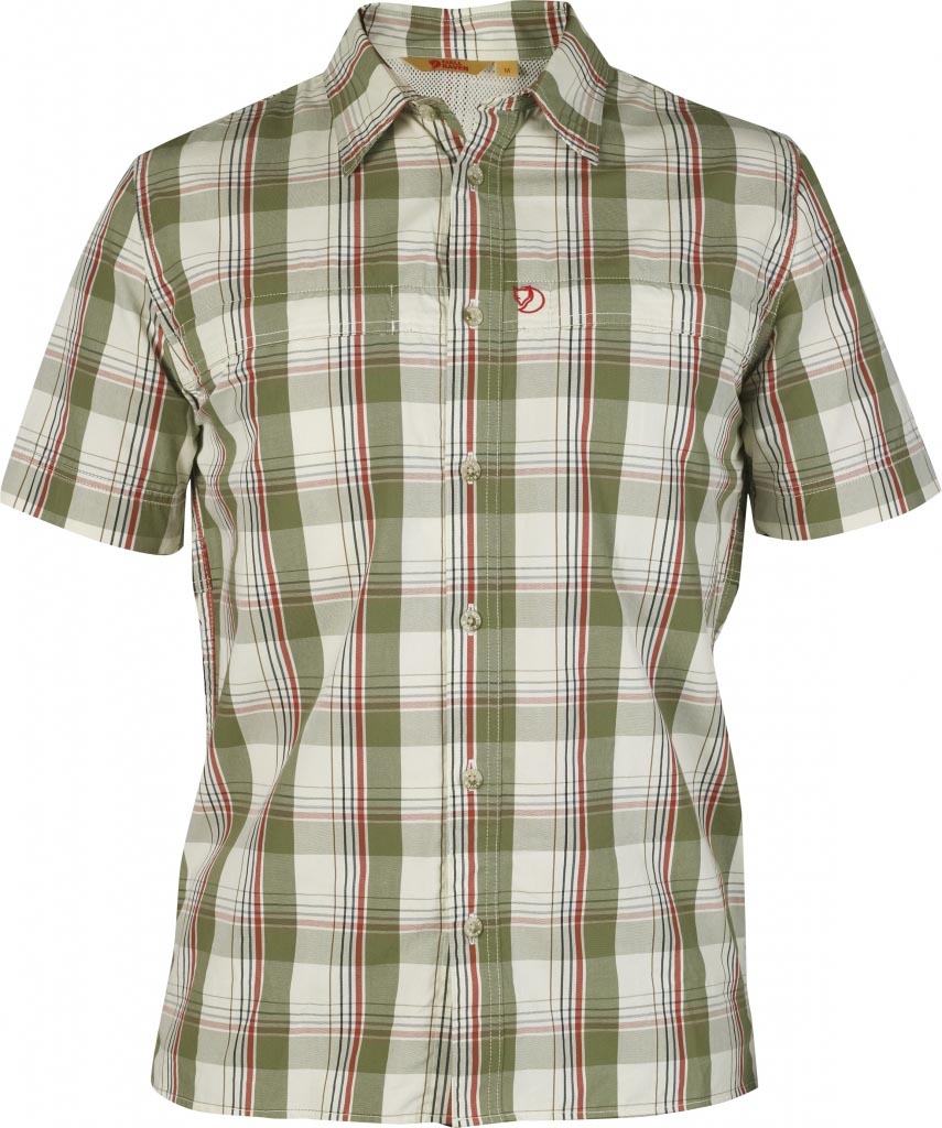 FjallRaven Gunnar Shirt Green-30