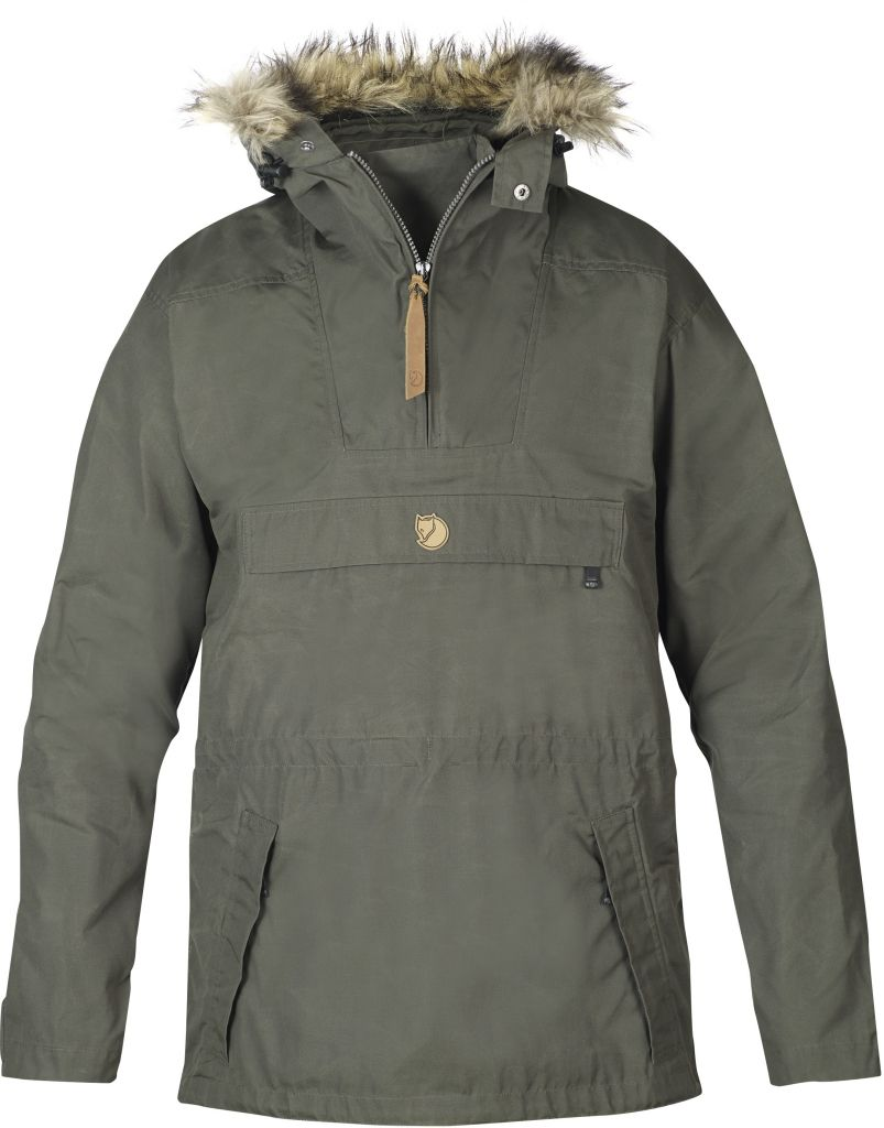 FjallRaven Gutulia Anorak Mountain Grey-30
