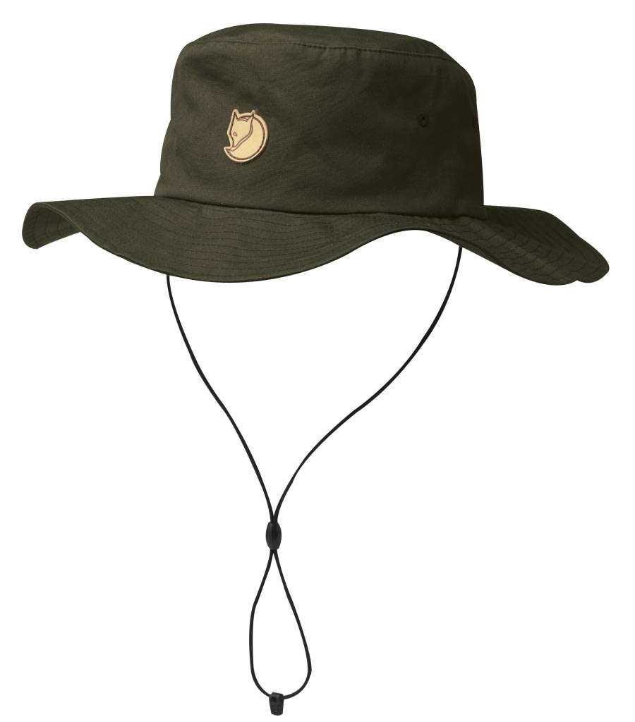 FjallRaven Hatfield Hat Dark Olive-30