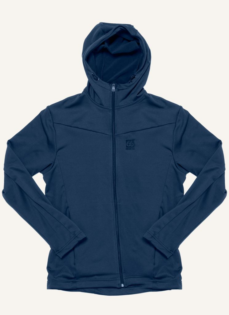 Hengill Hooded Jacket Dark Midnight-30