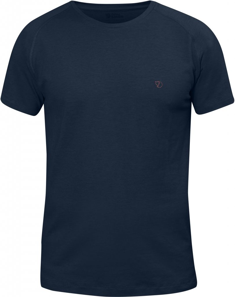 FjallRaven High Coast T-shirt Navy-30