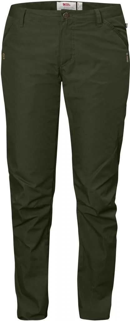 FjallRaven High Coast Trousers W Olive-30