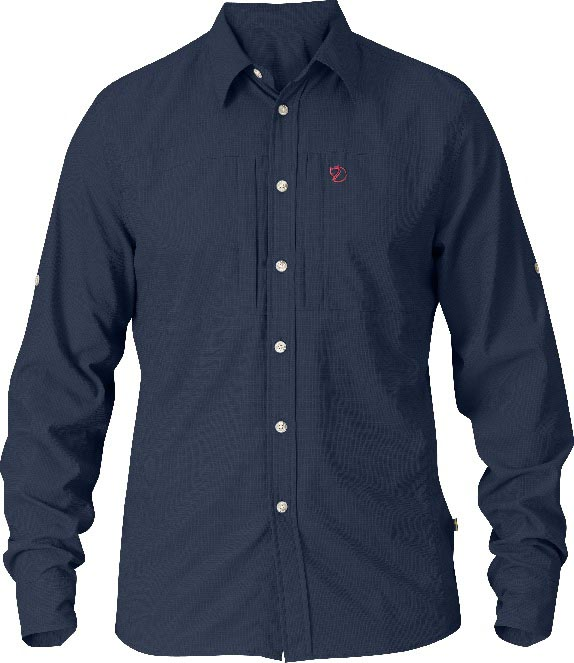 FjallRaven Hjort Shirt Dark Navy-30