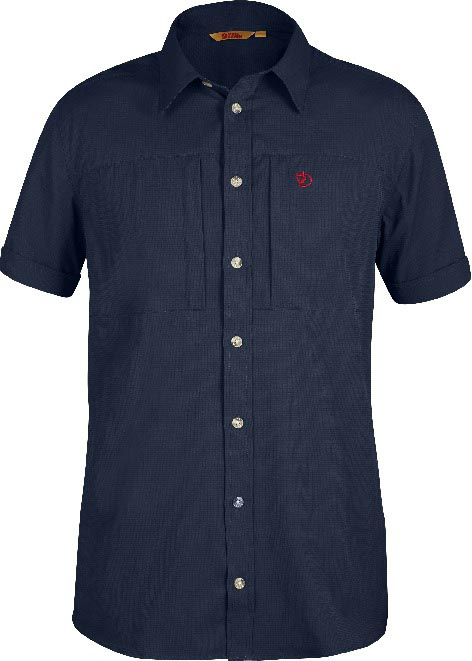 FjallRaven Hjort SS Shirt Dark Navy-30