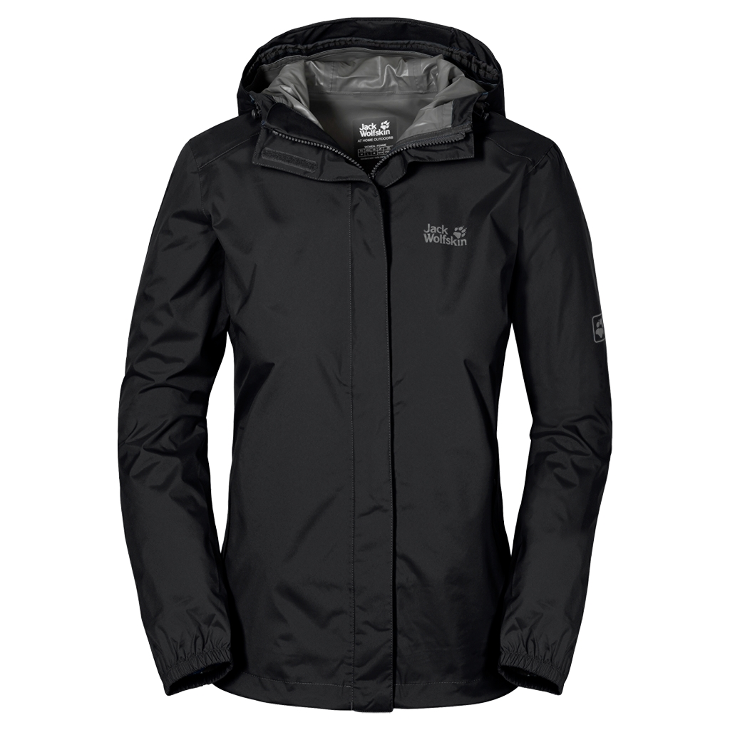 Jack Wolfskin Cloudburst Jacket Women black-30