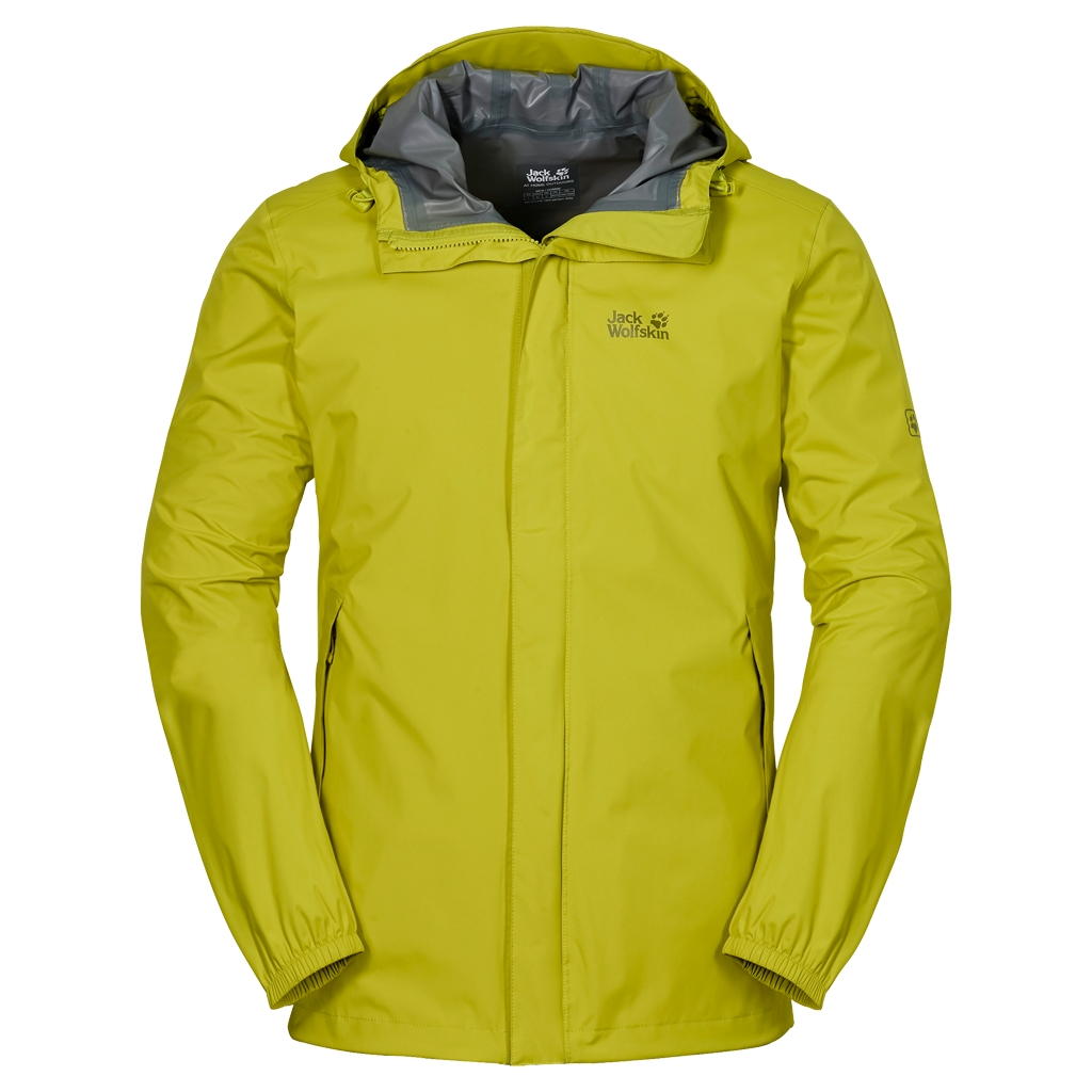 Jack Wolfskin Cloudburst Jacket Men wild lime-30