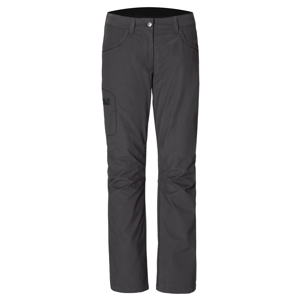 Jack Wolfskin Rainfall Pants Women dark steel-30