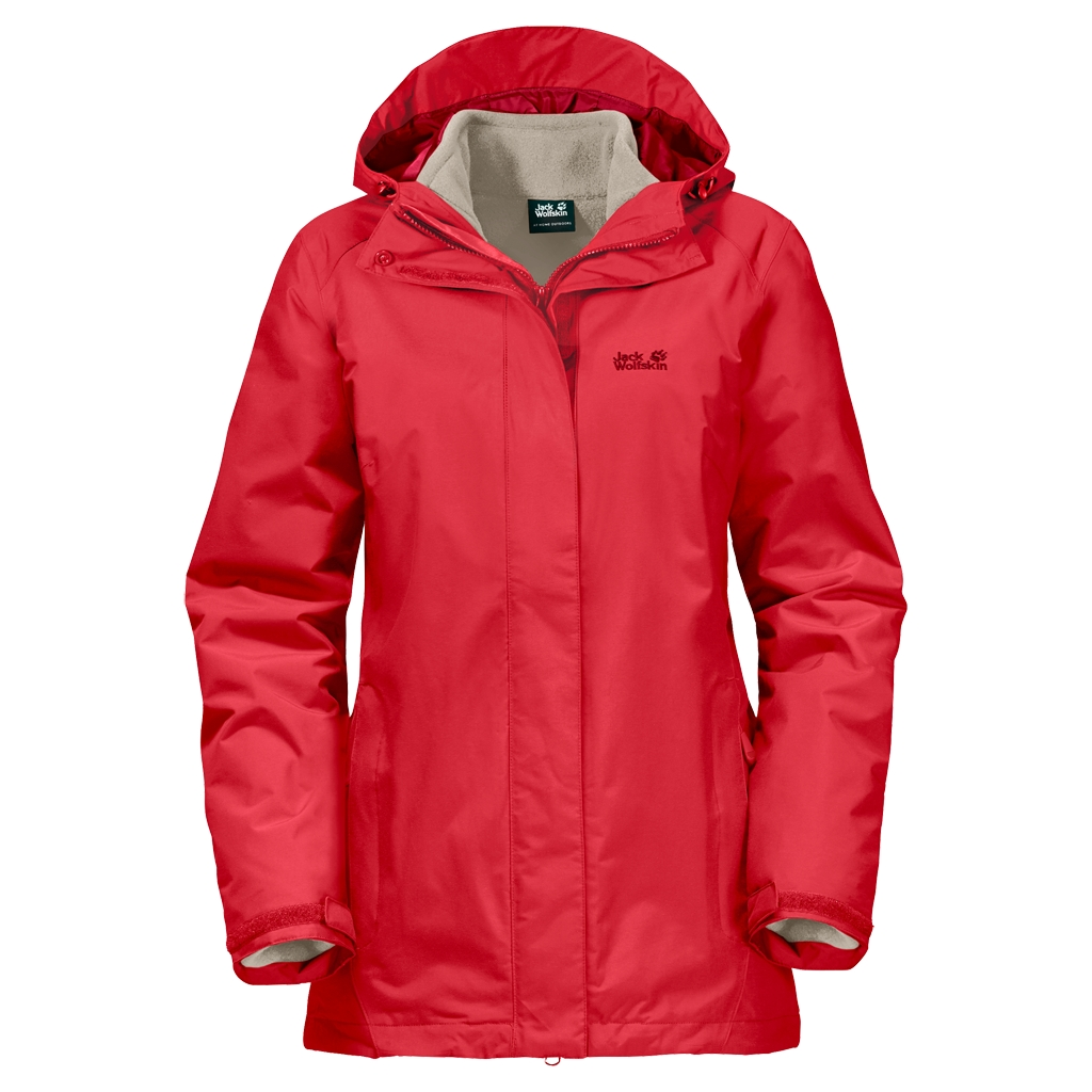 Jack Wolfskin Iceland 3In1 Women hibiscus red-30
