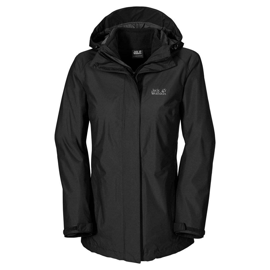 Jack Wolfskin Iceland 3In1 Women black-30