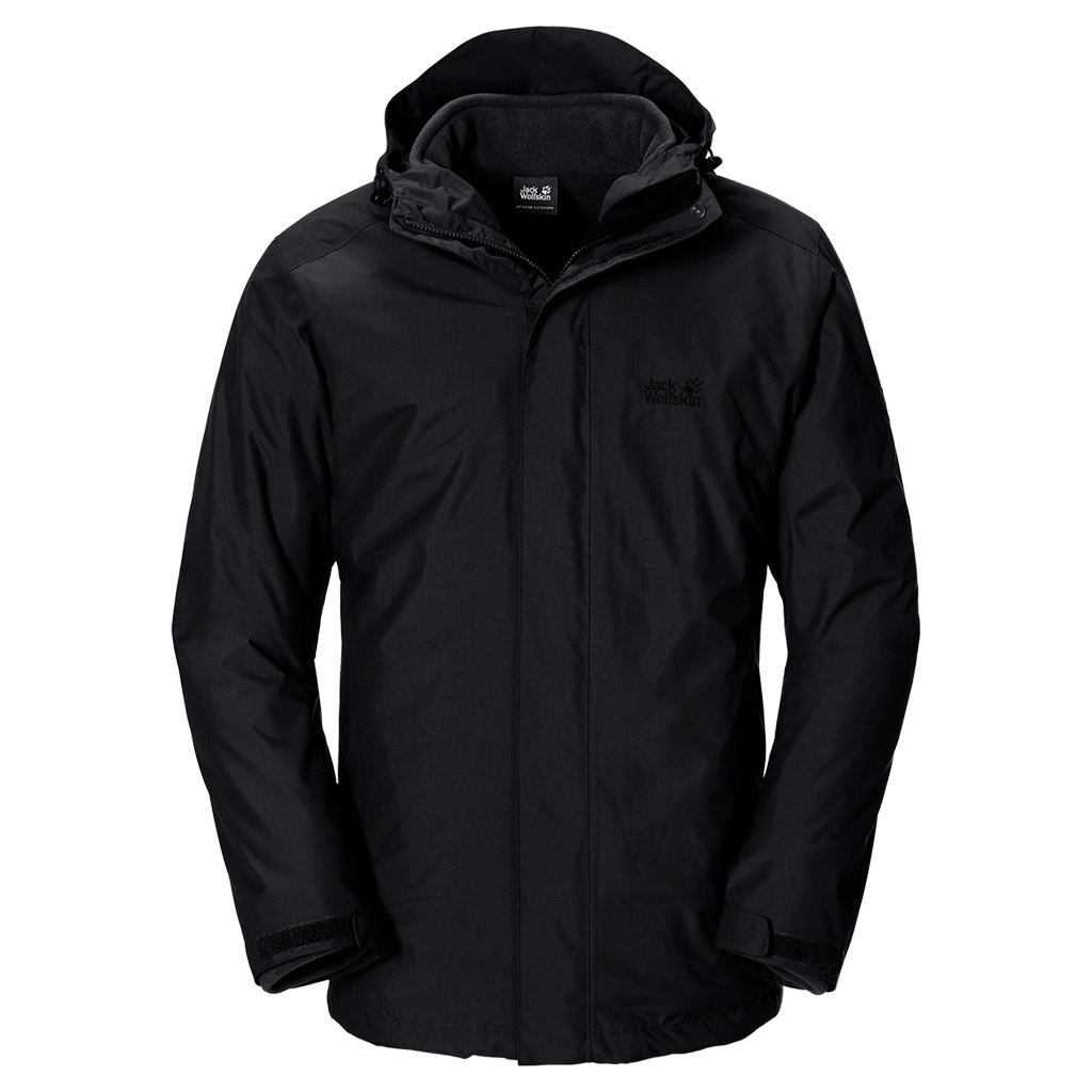 Jack Wolfskin Iceland 3In1 Men black-30