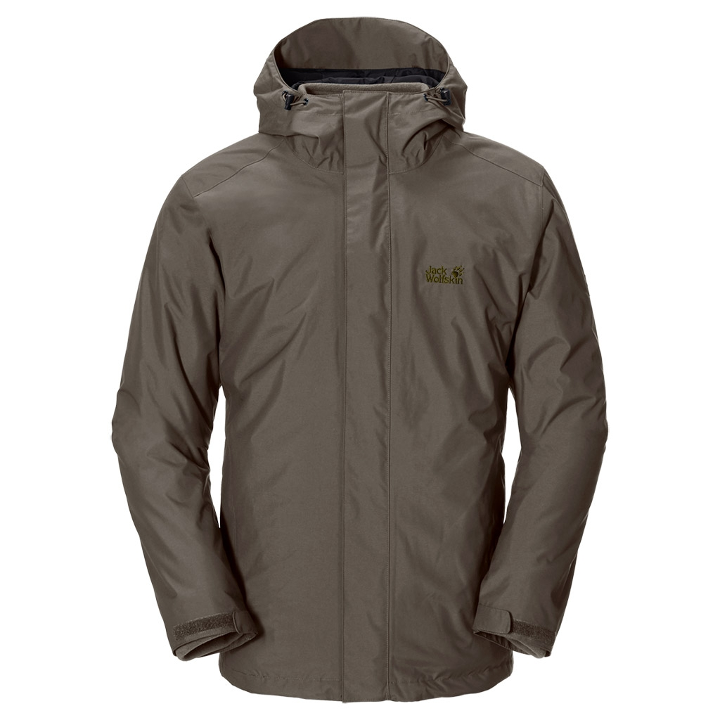 Jack Wolfskin Iceland 3In1 Men olive brown-30