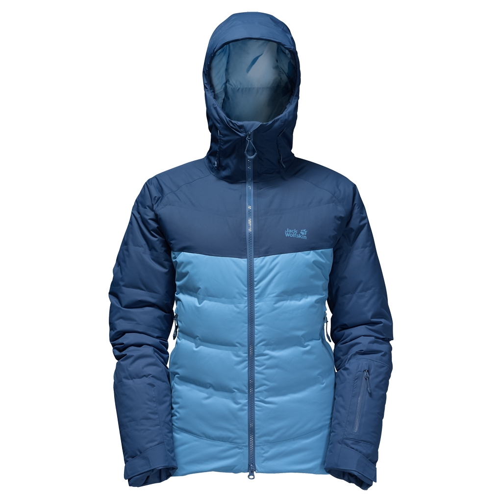 Jack Wolfskin Texapore Downshell Tec Jkt W light sky-30