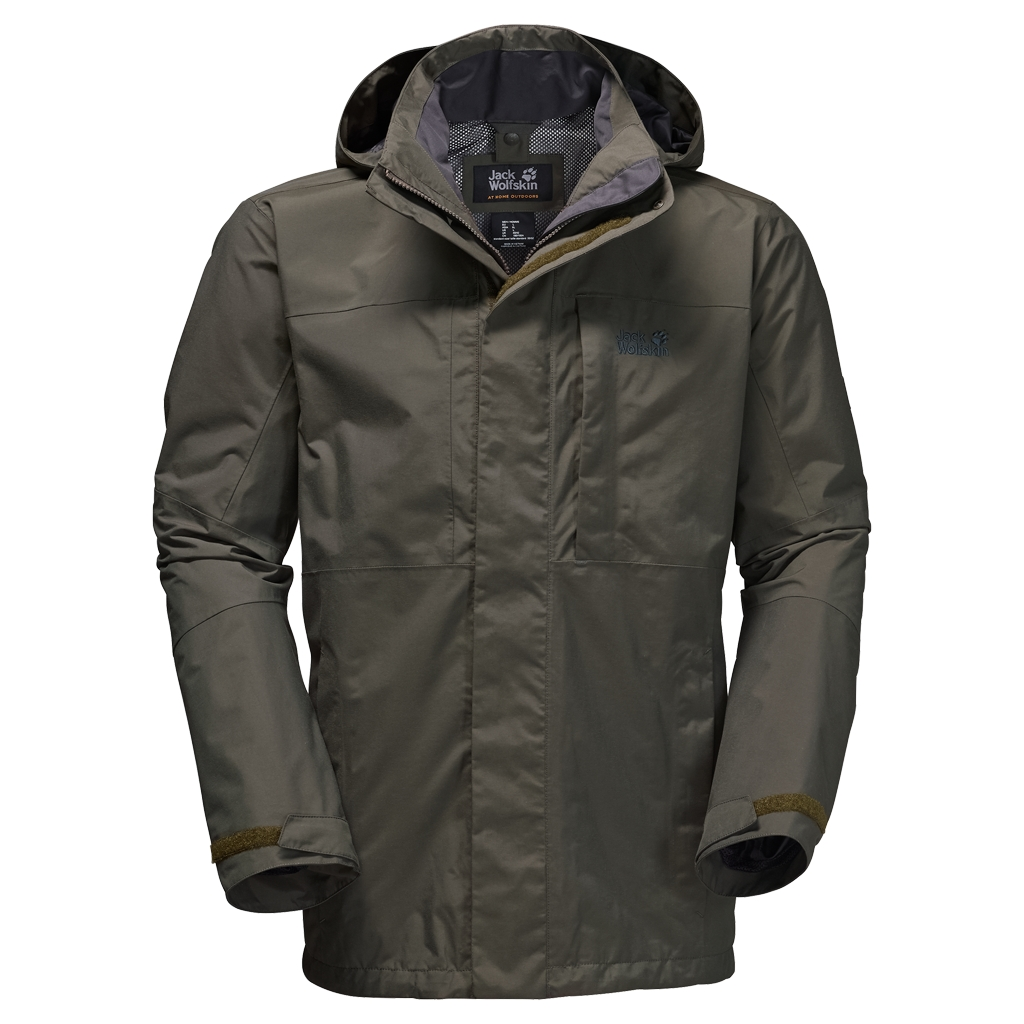 Jack Wolfskin Brooks Range Flex olive brown-30