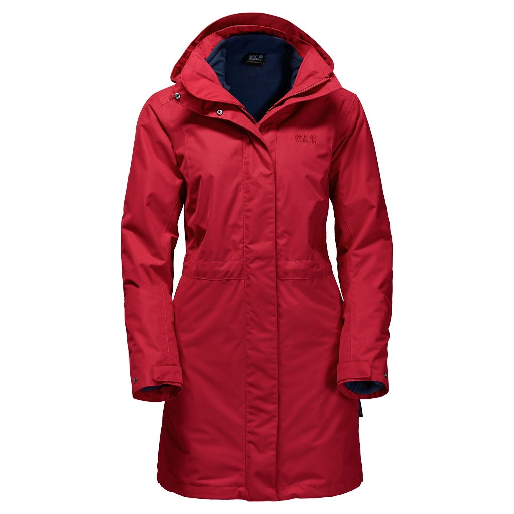 Jack Wolfskin Ottawa Coat indian red-30