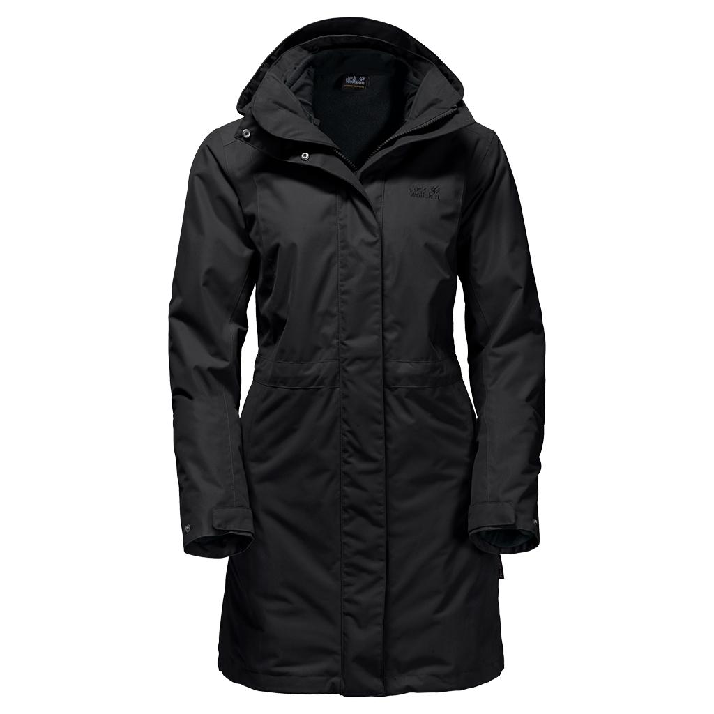 Jack Wolfskin Ottawa Coat black-30