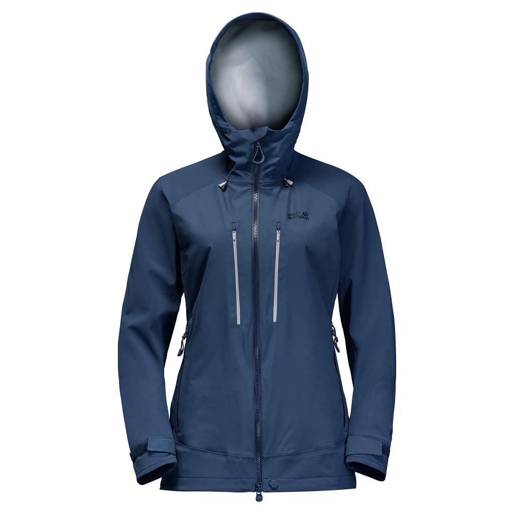 Jack Wolfskin Ocean Storm Flex Jacket Women dark sky-30