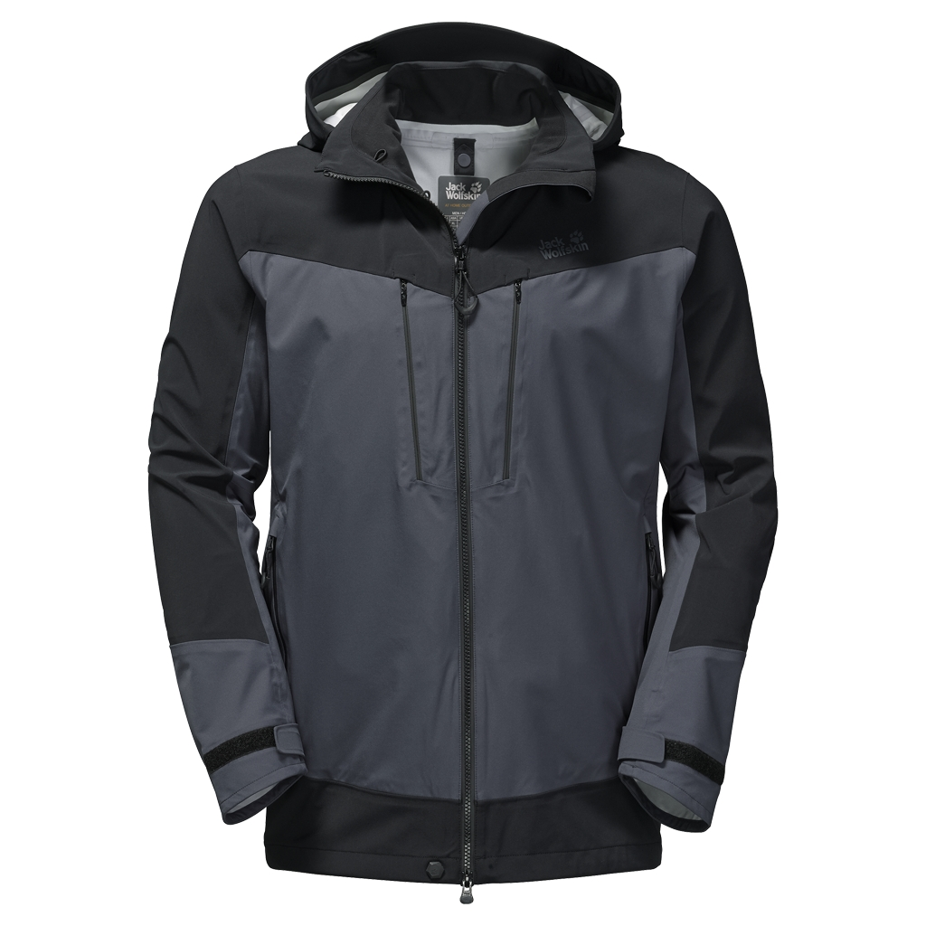 Jack Wolfskin Ocean Storm Flex Jacket Men ebony-30