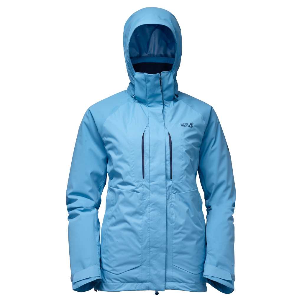 Jack Wolfskin Icy Storm Jacket Women light sky-30