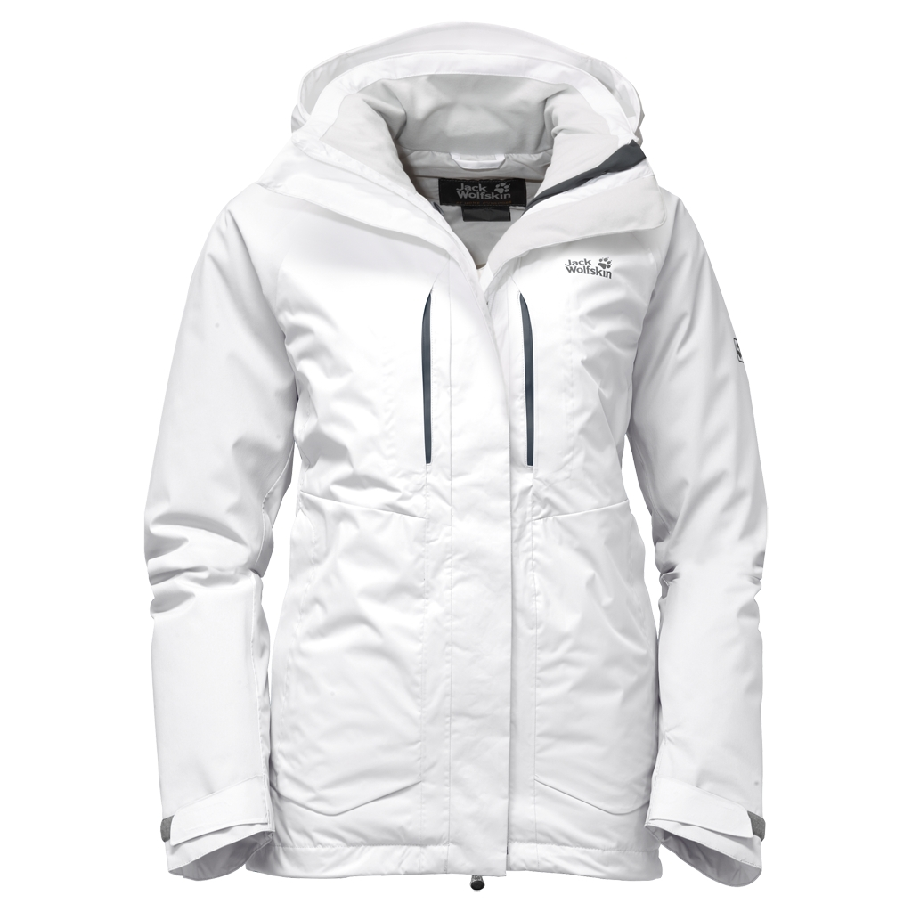 Jack Wolfskin Icy Storm Jacket Women white rush-30