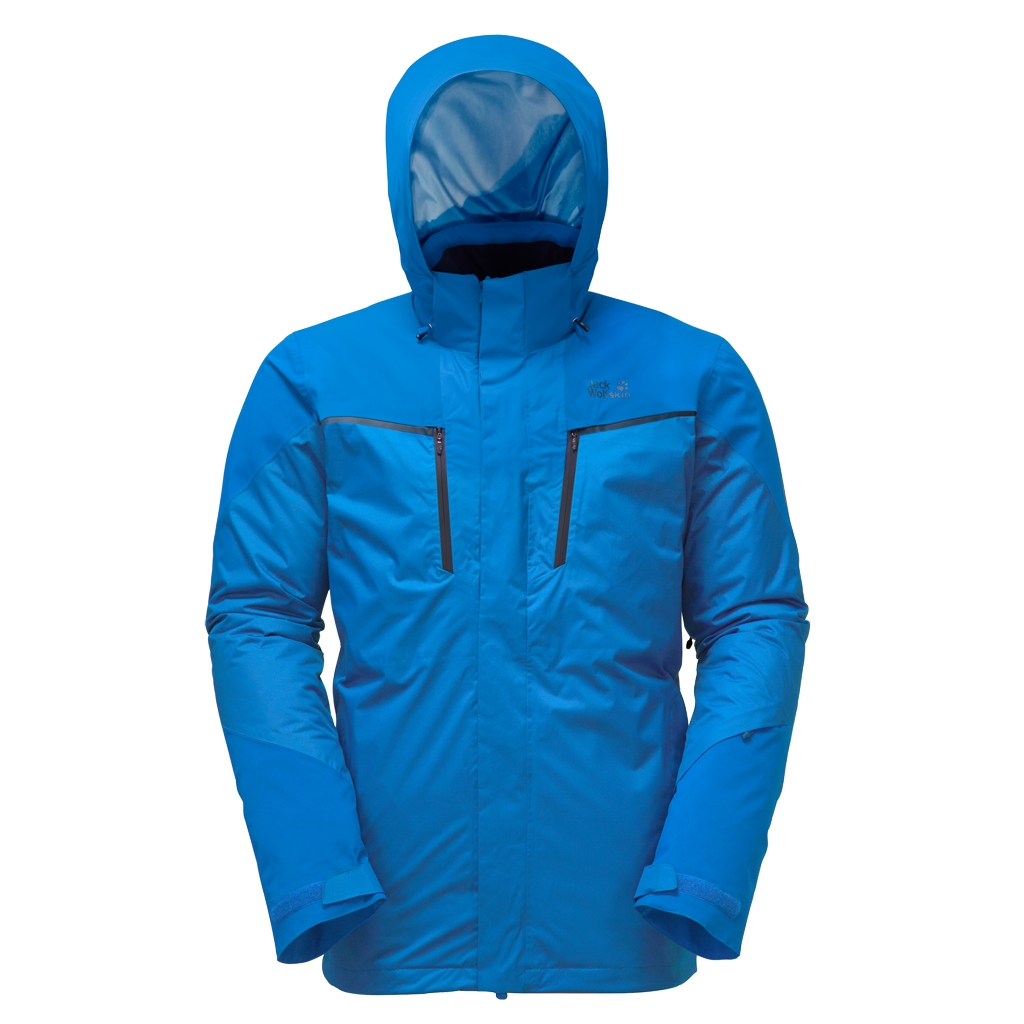 Jack Wolfskin Icy Storm Jacket Men azure blue-30