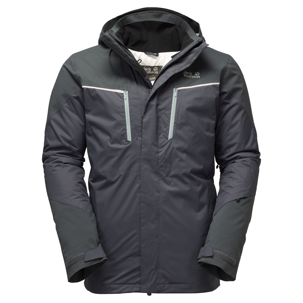 Jack Wolfskin Icy Storm Jacket Men ebony-30