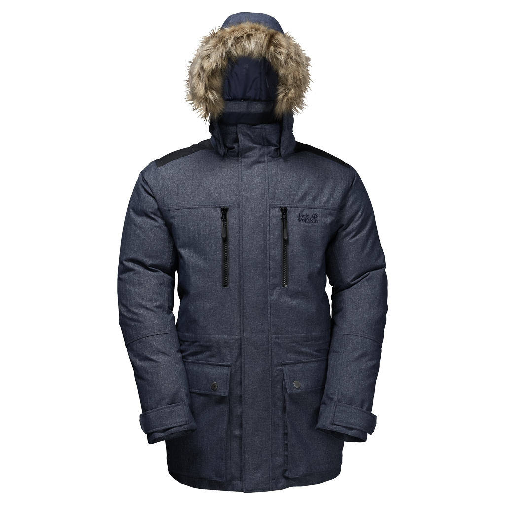 Jack Wolfskin The Bering Polar Parka night blue-30