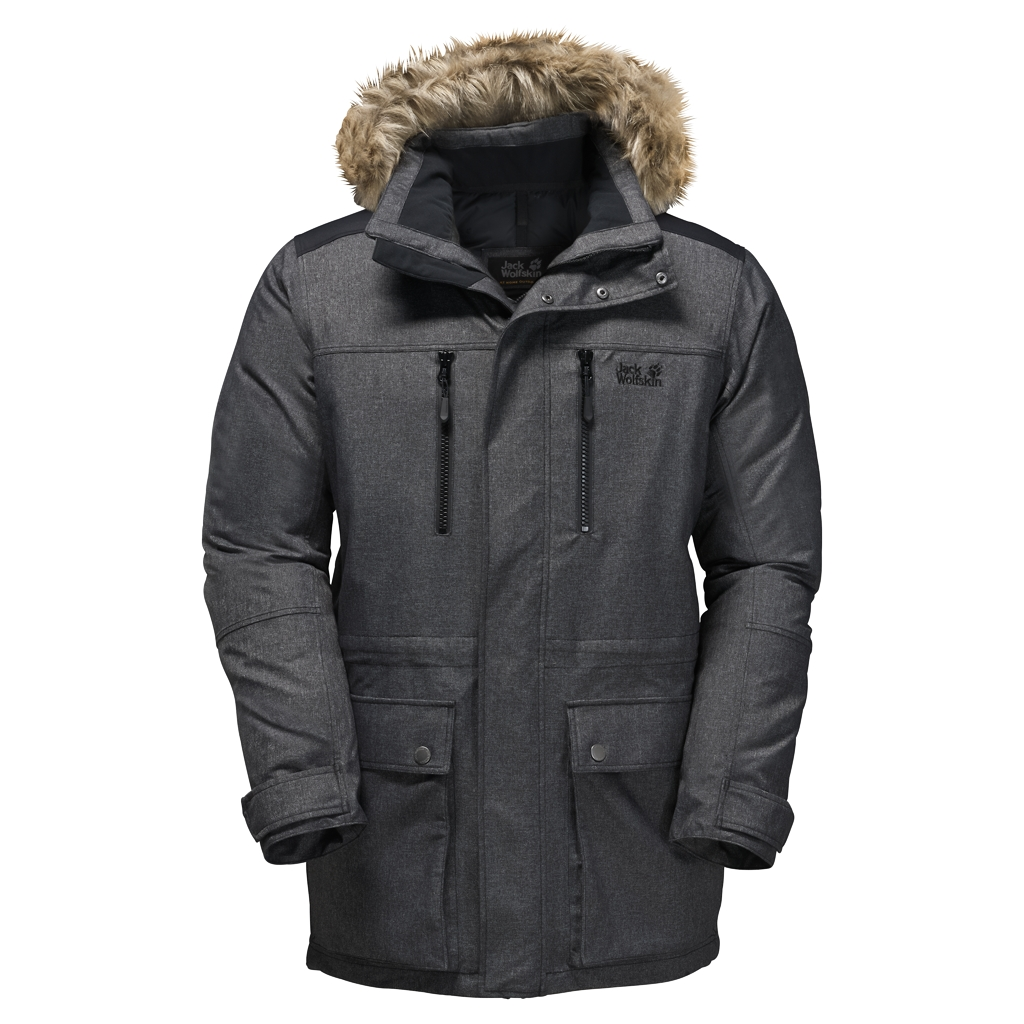 Jack Wolfskin The Bering Polar Parka black-30