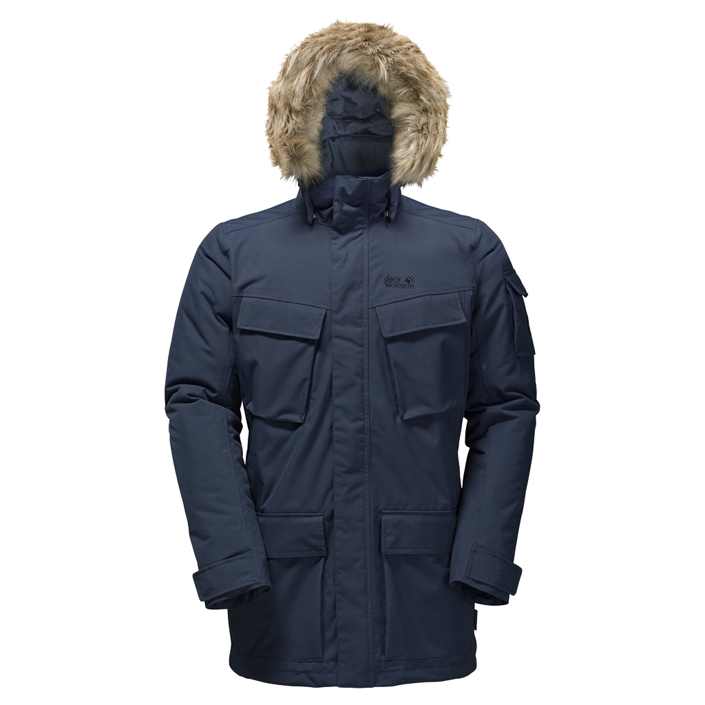 Jack Wolfskin Glacier Canyon Parka night blue-30