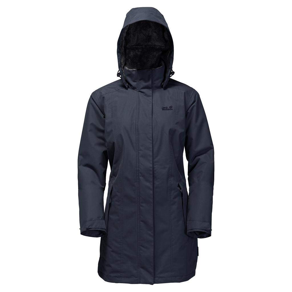 Jack Wolfskin Madison Avenue Coat night blue-30