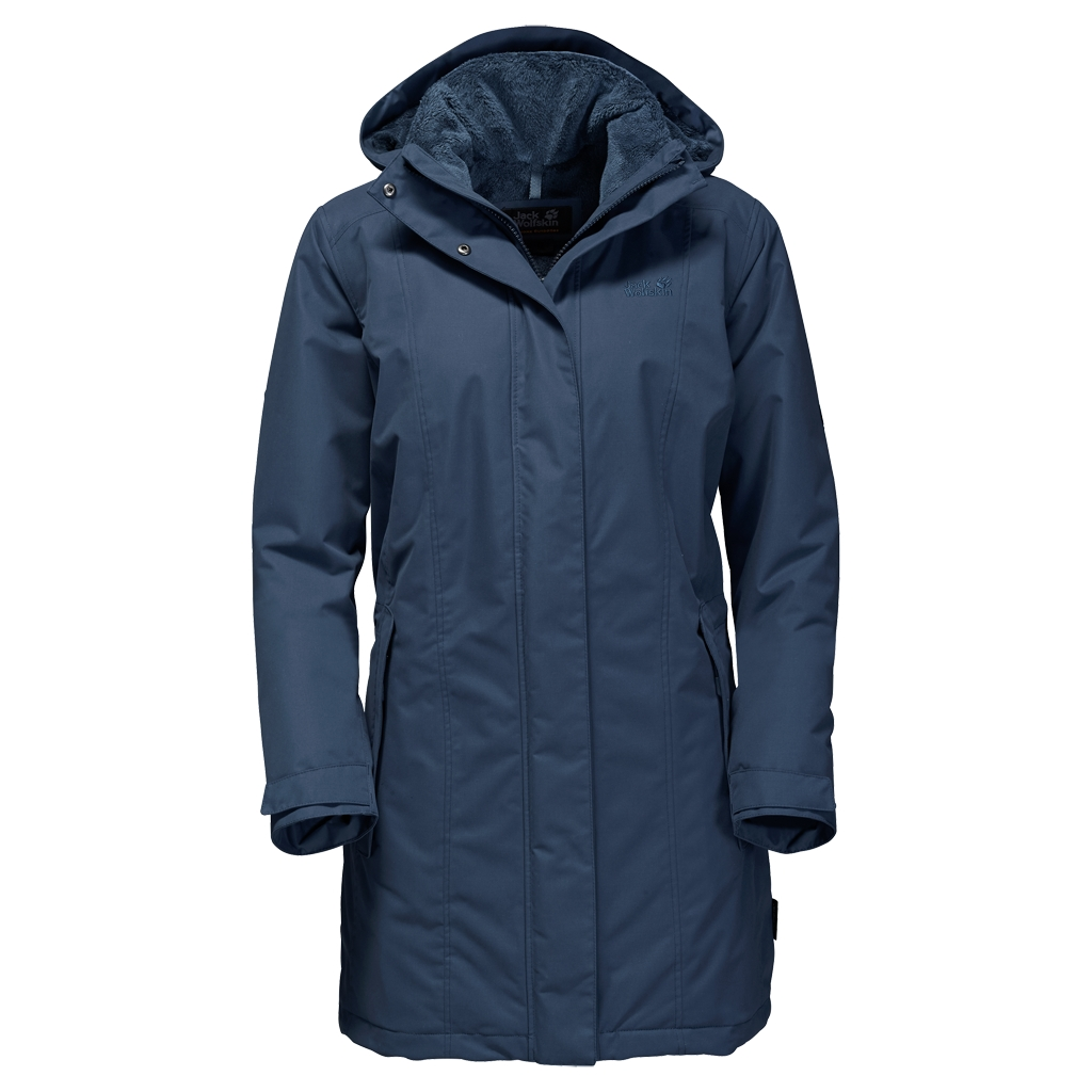 Jack Wolfskin Madison Avenue Coat dark sky-30