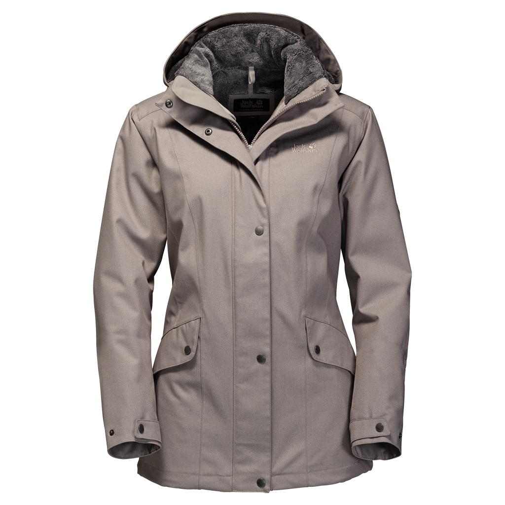 Jack Wolfskin Park Avenue Jacket moon rock-30