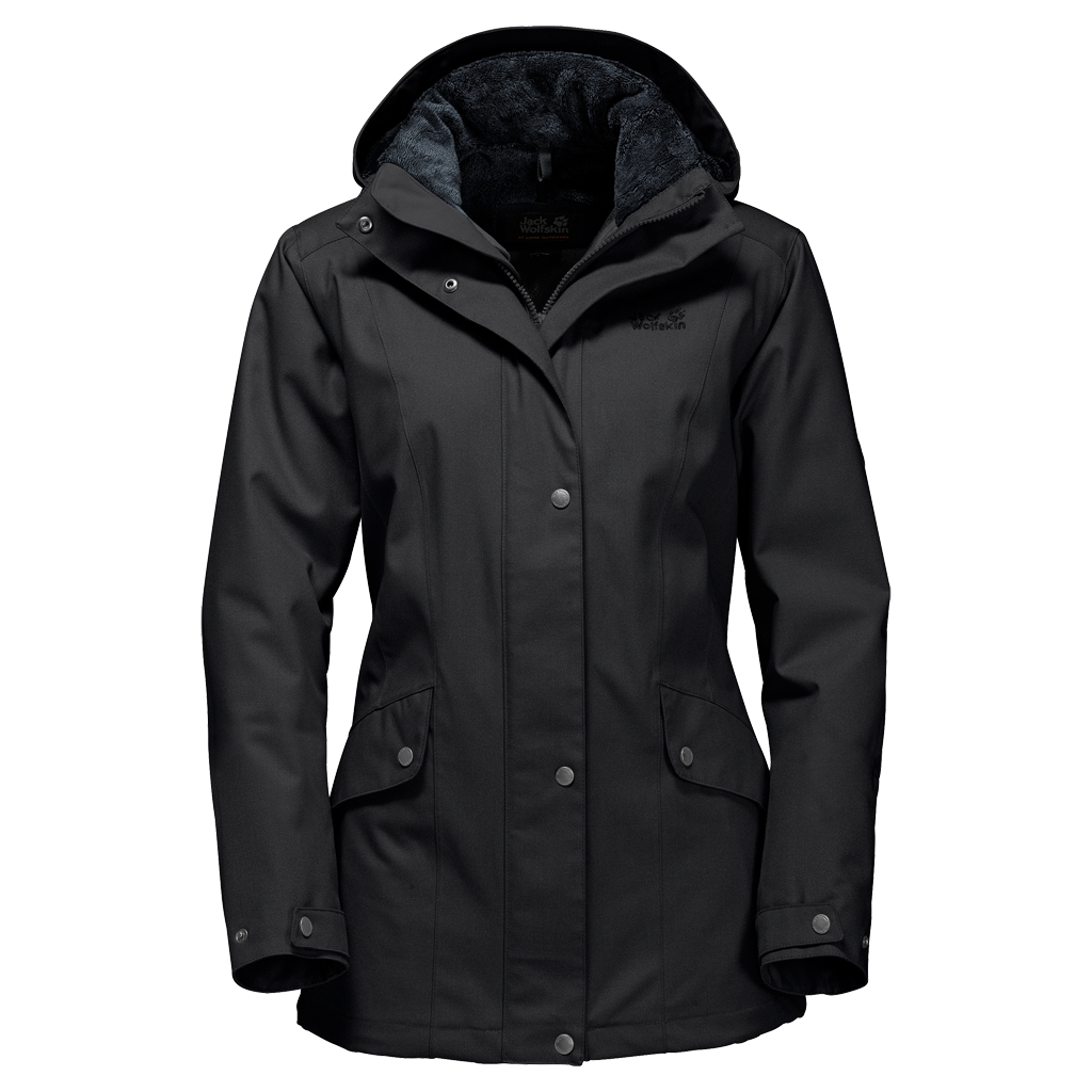 Jack Wolfskin Park Avenue Jacket black-30