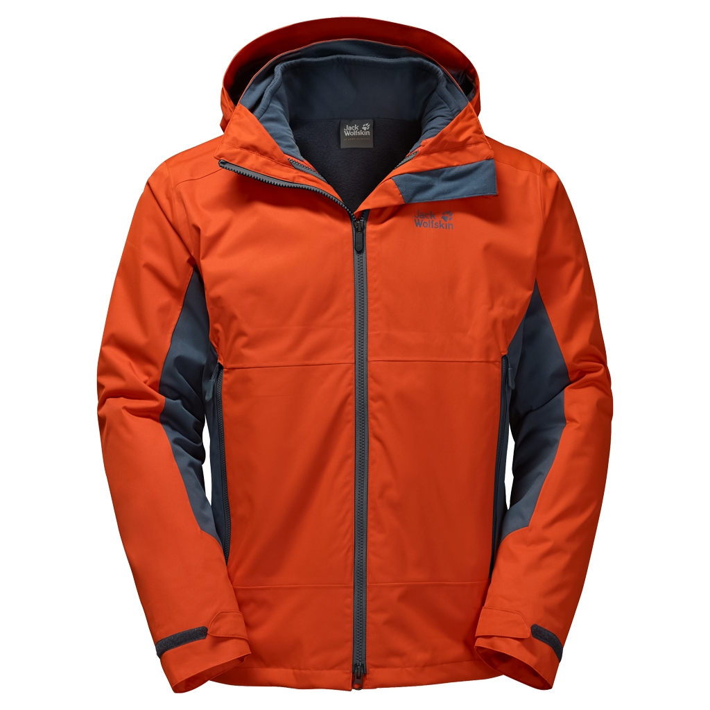 Jack Wolfskin Scott Base Jacket dark satsuma-30
