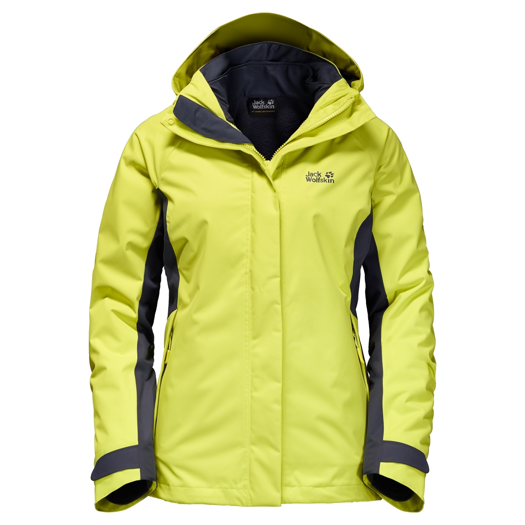 Jack Wolfskin Iceland Voyage 3In1 Women bright absinth-30