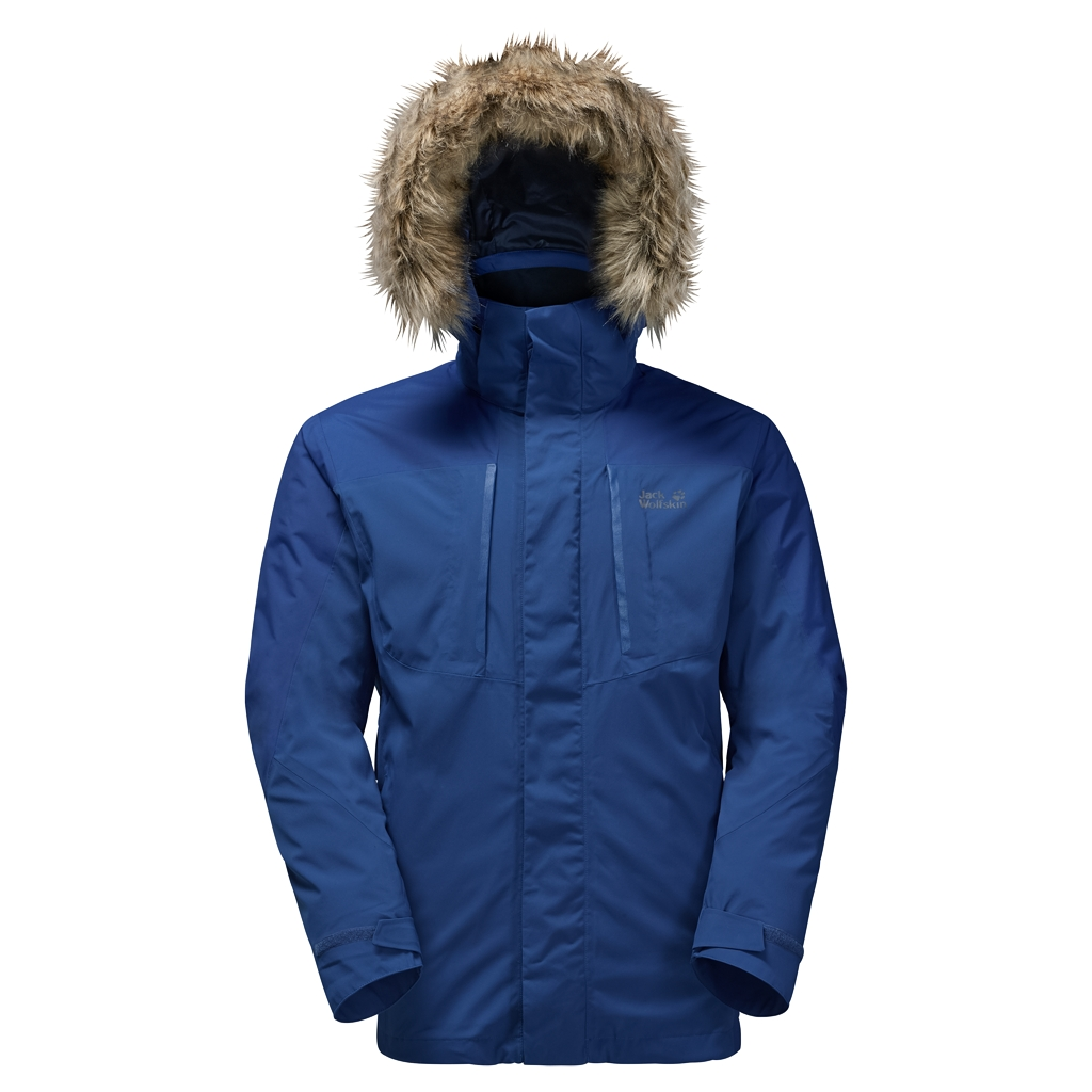 Jack Wolfskin Ross Island Jacket deep sea blue-30