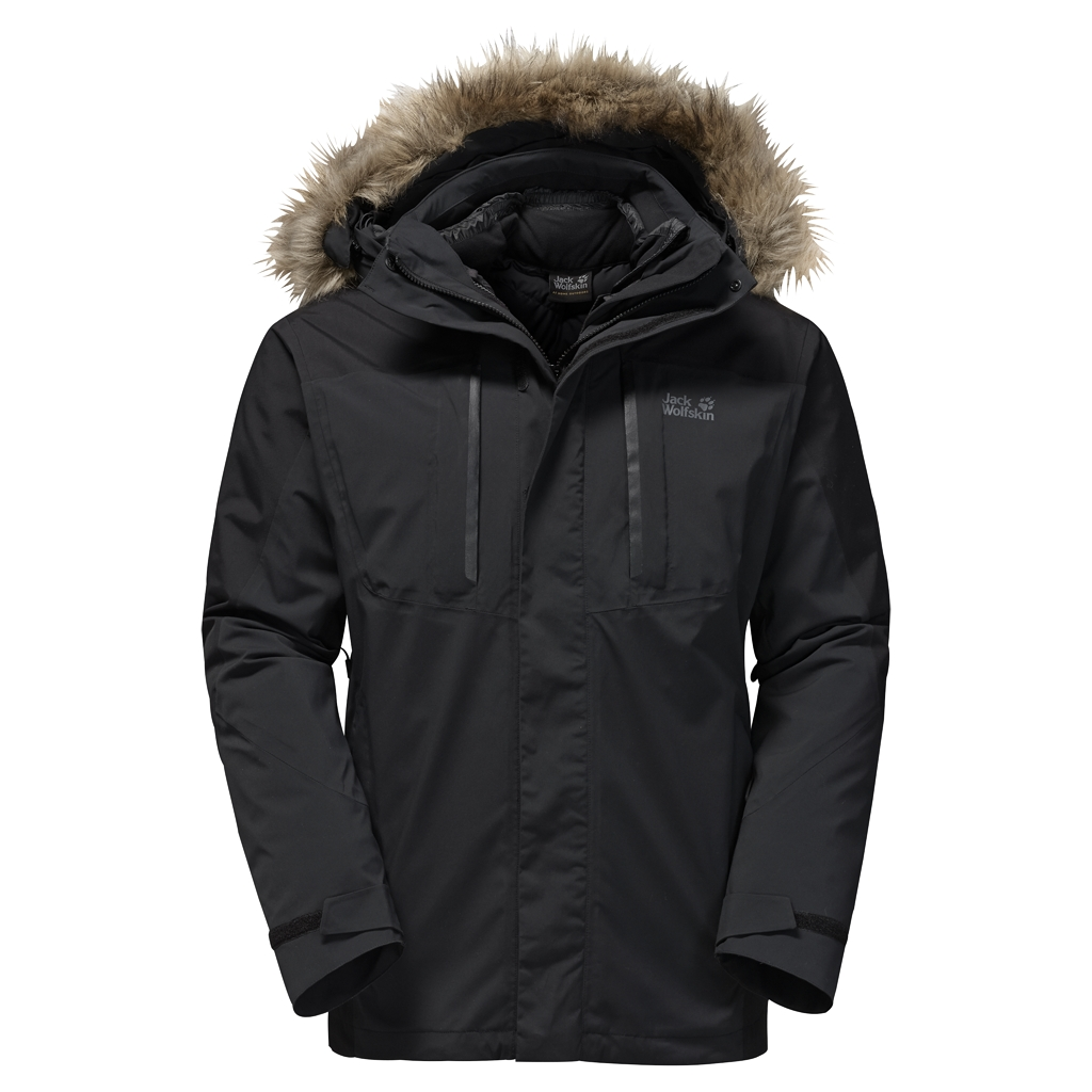 Jack Wolfskin Ross Island Jacket black-30