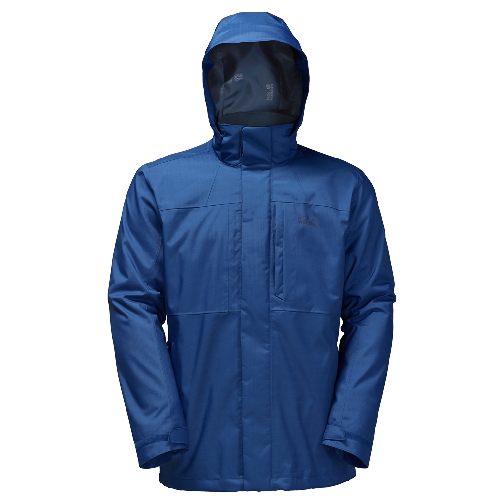 Jack Wolfskin Black Range 3In1 deep sea blue-30