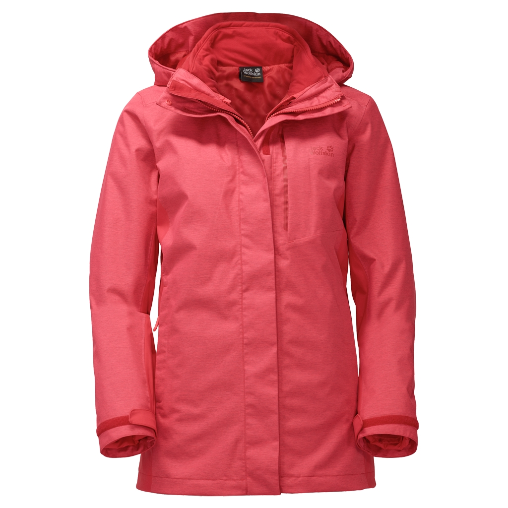 Jack Wolfskin Viking Sky Women hibiscus red-30