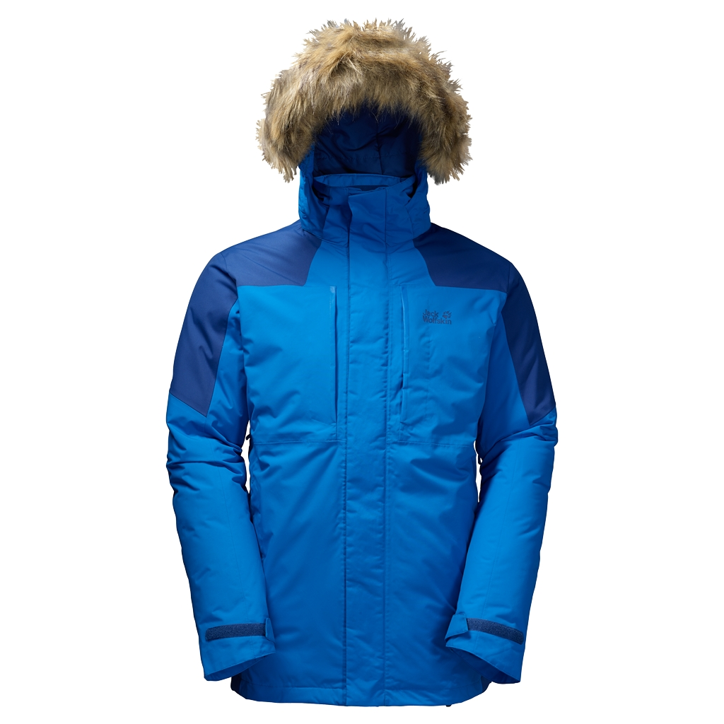 Jack Wolfskin Newfoundland Parka Men azure blue-30