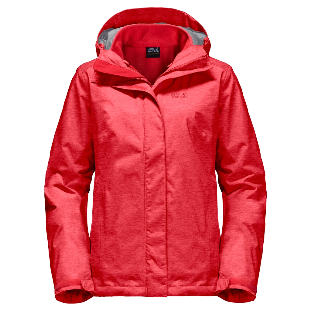 Jack Wolfskin Icy Arctic Women hibiscus red-30