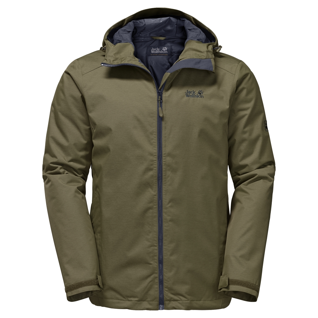 Jack Wolfskin Northern Sky Men burnt olive-30