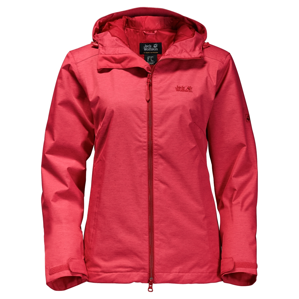 Jack Wolfskin Northern Sky Women hibiscus red-30