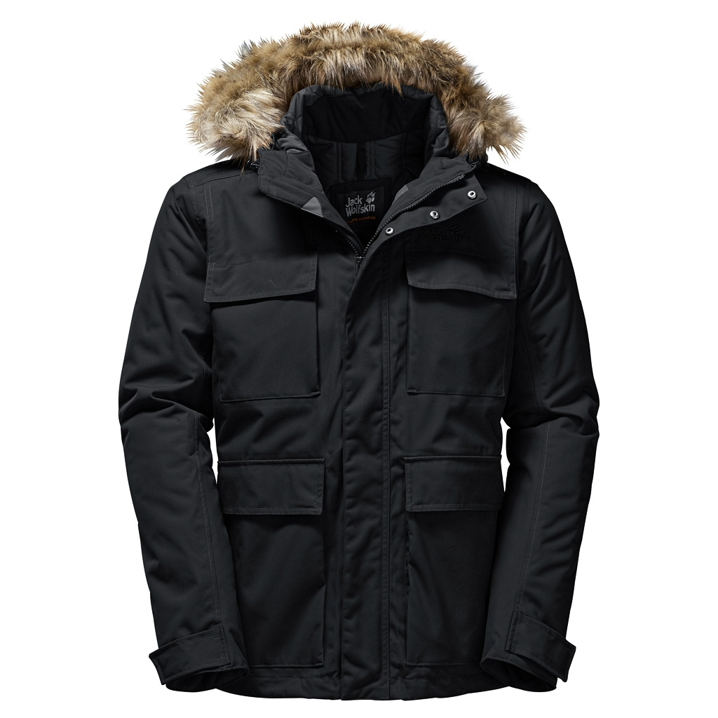 Jack Wolfskin Point Barrow black-30
