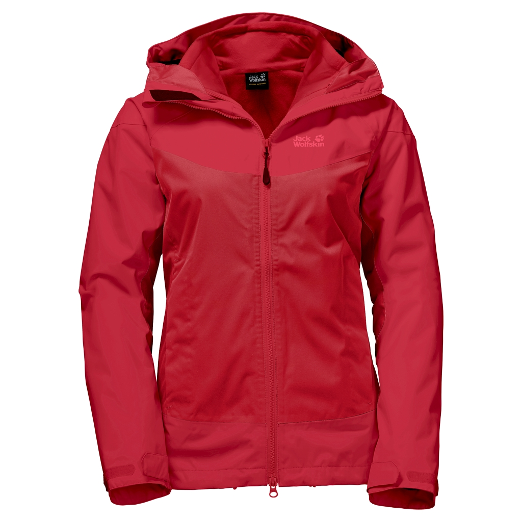 Jack Wolfskin North Ridge 3In1 hibiscus red-30