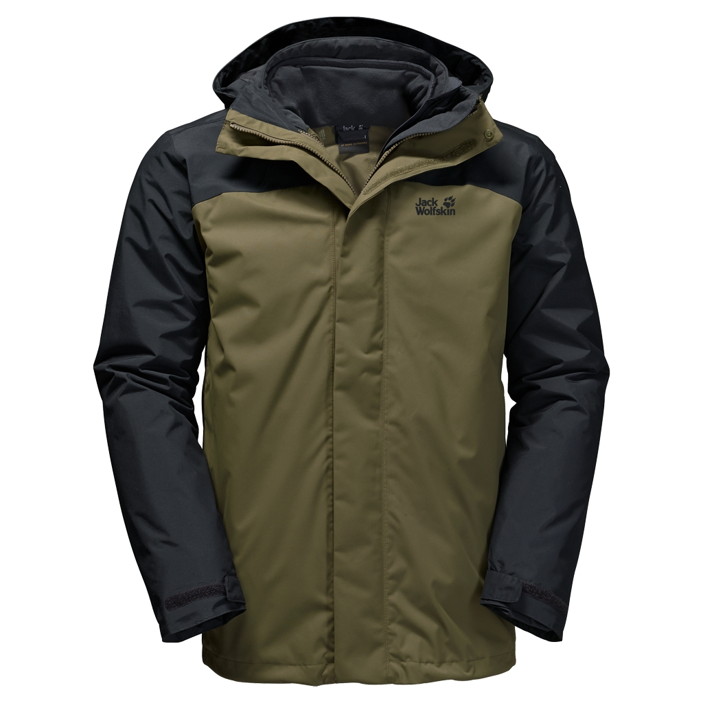 Jack Wolfskin Echo Bay Men burnt olive-30